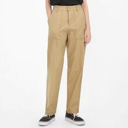 single boyfit cotton pants (s m)