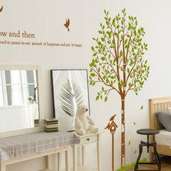 im840-행복한나무와새장그래픽스티커