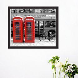 it012-런던컬러포인트창문그림액자(중형)