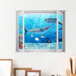 it019-바닷속세상창문그림액자(중형)