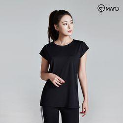 마요 요가복 루즈핏 반팔 티셔츠 MY7TS18