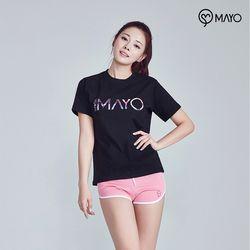 마요 요가복 면 티셔츠 MY7TS24