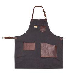 Best leather dark gray[A335] 이름자수