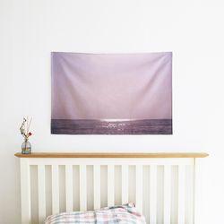 Violet Sea 패브릭 포스터 태피스트리