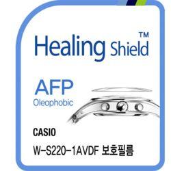 카시오 W-S220-1AVDF 올레포빅 시계액정보호필름 2매