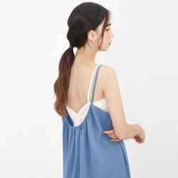 back twist sleeveless