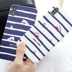 [Try]샤크 3D 하드 케이스.LG G7