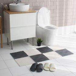 모던 미끄럼방지 조립식 욕실매트1P
