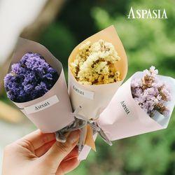 [쇼핑백증정] 트로이스 미니 꽃다발박스-미니꽃다발 프리저브드 플라워박스