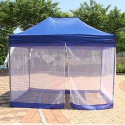 튼튼 함마톤 천막 사면모기장(2X2)그늘막 캐노피 텐트