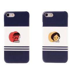 [두리]컬러페이스 하드 케이스 .아이폰6(s)플러스