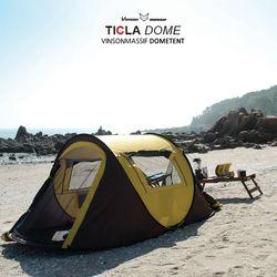 티클라 원터치텐트(3-4인용)그늘막 자동 오토 팝업 캠핑 텐트