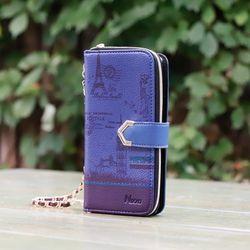 갤럭시S6 (G920) VintGlit 지갑케이스