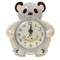 실버 곰 탁상시계 알람시계 모닝시계 CH1346337