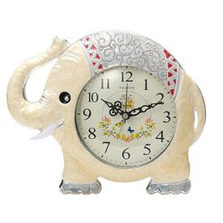 럭셔리 코끼리 탁상시계 알람시계 모던시계 CH1346333