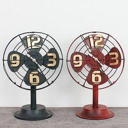 무소음 팬 테이블 시계 탁상시계 CH1344649