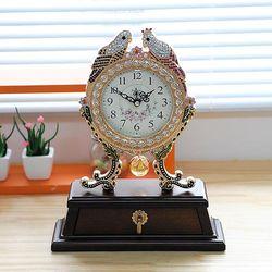 잉꼬 탁상시계 탁상시계 책상시계 CH1322337