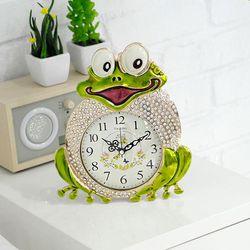 두꺼비 탁상시계 알람시계 책상시계 CH1321594