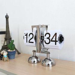 화이트 플립 탁상시계 인테리어시계 CH1297321