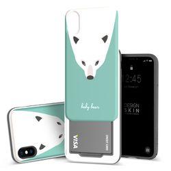 아이폰X 슬라이더 베이비베어 카드케이스