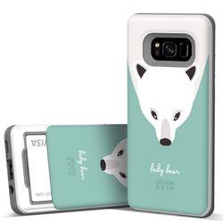 갤럭시S8플러스 슬라이더 베이비베어 카드케이스