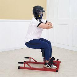 스쿼트 머신 기구 하체 근력 운동 백돌이 일루와