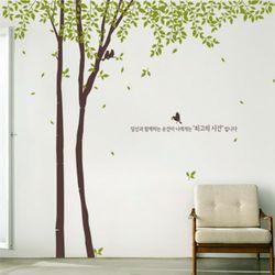 ph376-흩날리는자작나무숲그래픽스티커