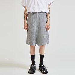 check half pants - UNISEX