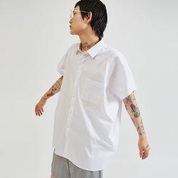 sleeveless boxy shirts (2 color) - UNISEX