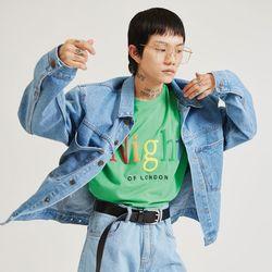 pocket denim jacket (2 color) - UNISEX