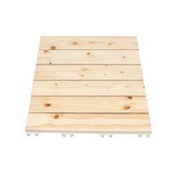 소나무 원목 욕실발판 40cm