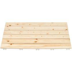 소나무 원목 욕실발판 70cm