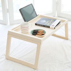 가벼운 접이식 좌식 테이블 [포터블테이블-베이지]