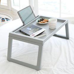 가벼운 접이식 좌식 테이블 [포터블테이블-그레이]