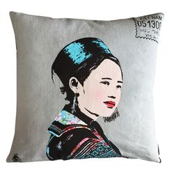 Miss Mong (cushion cover)