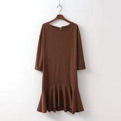 Ribbon Flare Dress