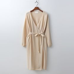 Hera Wool Wrap Dress