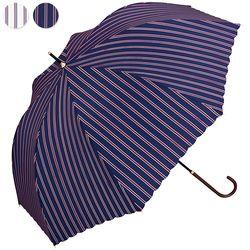 wpc우산 스트라이프 장우산 4011-08