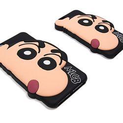 짱구 정품 소프트 실리콘 아이폰6S 플러스 케이스
