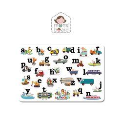 맘스보드 오브제 자이언트알파벳소문자 유아 자석 칠판 퍼즐