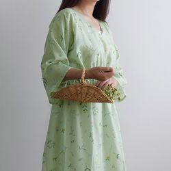 [Fabric] Perfume of Summer Pattern 텐셀 (여름꽃향기)