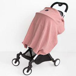 코니테일 수유가리개-핑크(아기띠바람막이 워머)