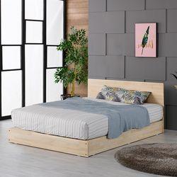 서랜든 편백나무 원목 퀸Q 침대프레임