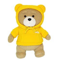 19곰 테드 인형 후드티 2.0 옐로우 30CM