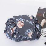 빠띠라인 화장품 파우치 보자기타입 패턴형 4종택1