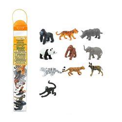 100109 멸종동물(육상)피규어모음 튜브