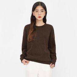holic wool round knit