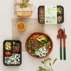 [무료배송] 밥심도시락 - 건강식단관리 혼밥세트 12팩