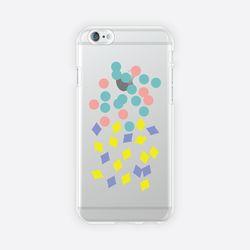 [아이폰 6 6s 7 8 젤리케이스] ABSTRACT PATTERN PHONE CASE - A
