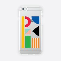 [아이폰 6 6s 7 8 젤리케이스] ABSTRACT PATTERN PHONE CASE - C
